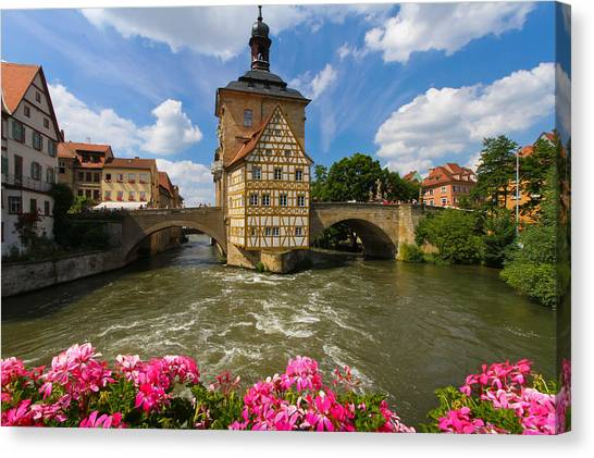 Bamberg Bridge Canvas Print