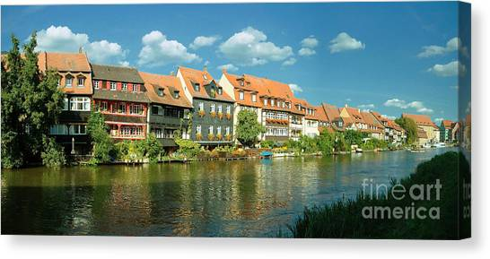 Bamberg Little Venice 1 Canvas Print
