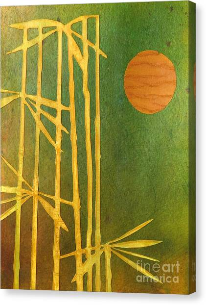 Bamboo Moon Canvas Print