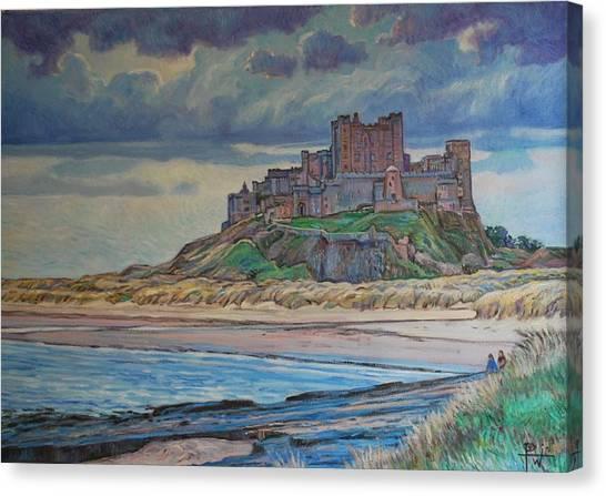 Bamburgh  Canvas Print by Henry Potwin