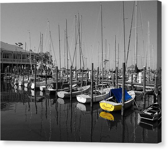 Banana Boat Canvas Print