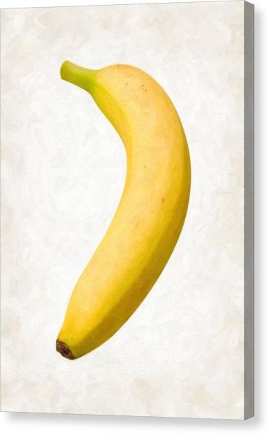 Bananas Canvas Print - Banana by Danny Smythe