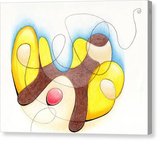 Banana Split Canvas Print