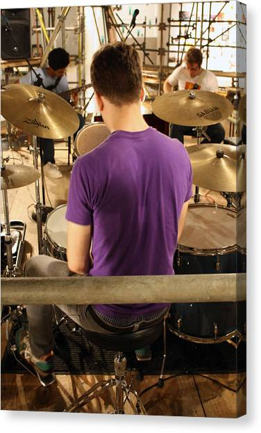 Band Practice Canvas Print