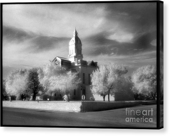 Bandera County Courthouse Canvas Print