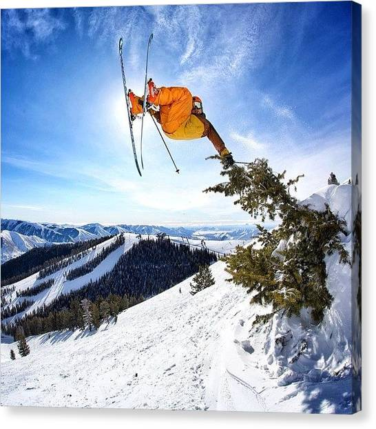 Idaho Canvas Print - #banger Day On The Hill With by Cody Haskell