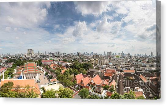 Bangkok Panorama Canvas Print