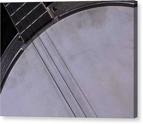 Banjo Abstract Canvas Print by Kay Sparks