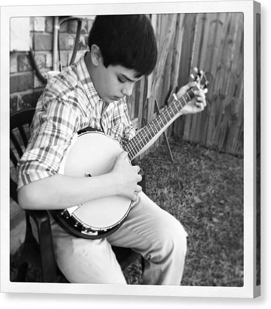 Banjos Canvas Print - #banjo by Kross Media