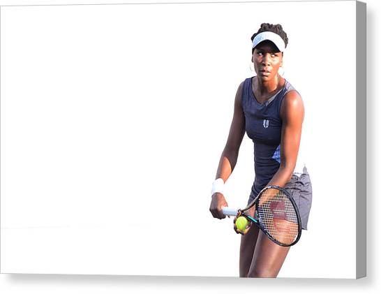 Venus Williams Canvas Print - Bank Of The West Classic - Day 4 by Noah Graham