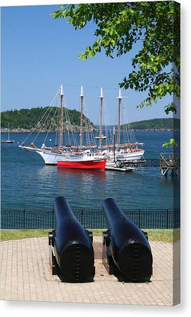 Bar Harbor Canvas Print by Acadia Photography