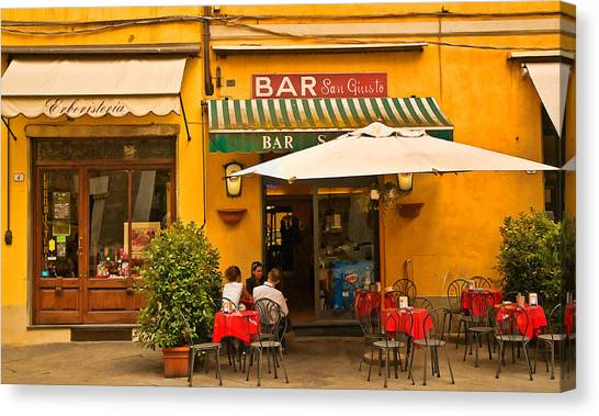 Bar San Giusto Canvas Print