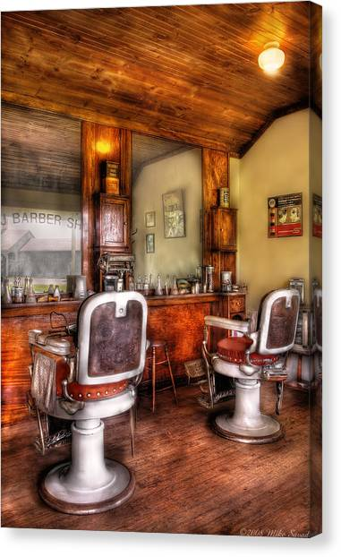 Barber - The Barber Shop II Canvas Print