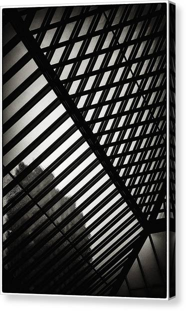Barbican Grids Canvas Print