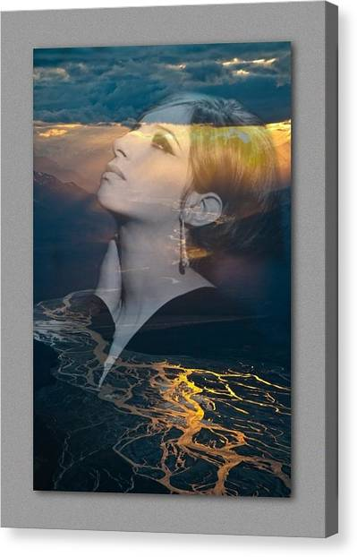 Barbra's Vision Canvas Print