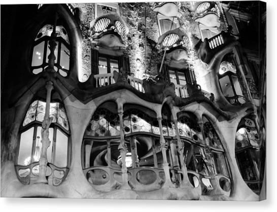 Barcelona - Casa Batllo Canvas Print