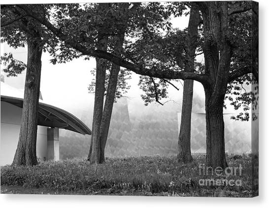 Bard College Fisher Center Canvas Print by University Icons