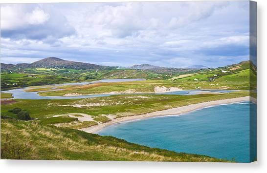 Barleycove Beach Cork Ireland Canvas Print