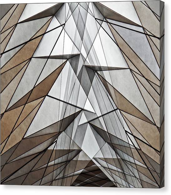 Abstraction Canvas Print - Barmecide by Gilbert Claes