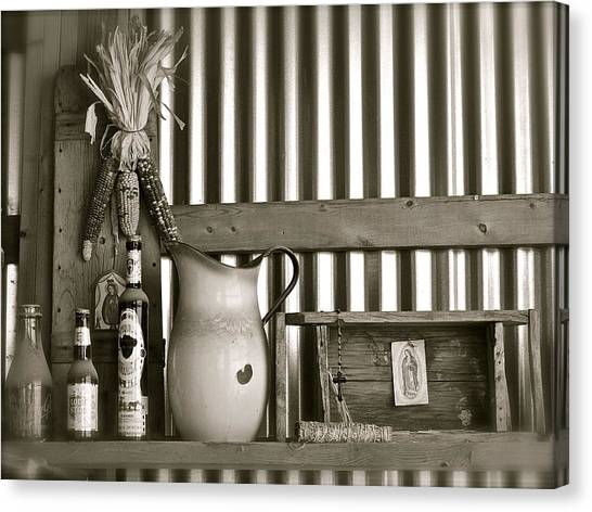 Barn Altar Canvas Print