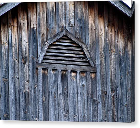 Barn And Batten Canvas Print by Nickaleen Neff