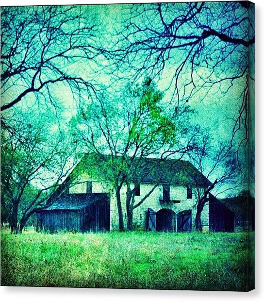 Barns Canvas Print - #barn #architecture #rural #rustic by Jill Battaglia
