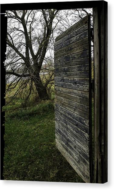 Barn Door No. 1 Canvas Print