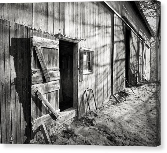 Barn Doors Canvas Print