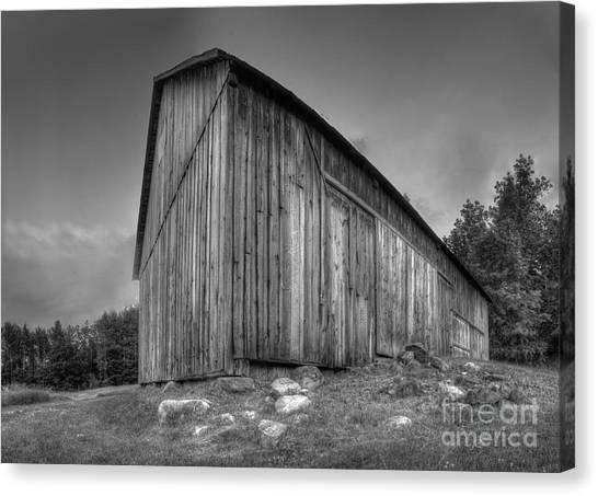 Oneida Canvas Print - Barn In Port Oneida by Twenty Two North Photography
