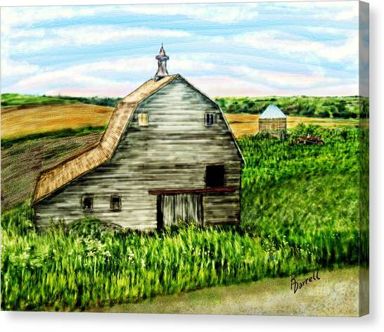 Barn Near Stanton Nebraska Canvas Print