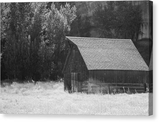 Barn Out West Canvas Print