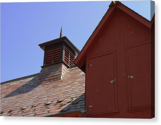 Barn Roof Canvas Print