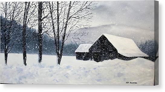 Barn Storm Canvas Print
