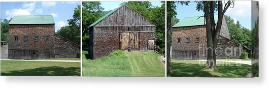 Barn Triptych Canvas Print