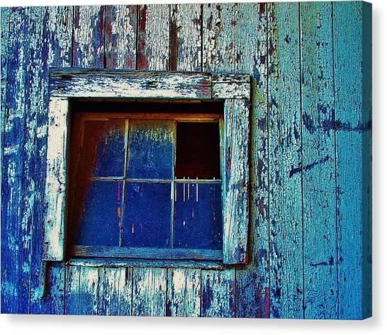 Barn Window 1 Canvas Print