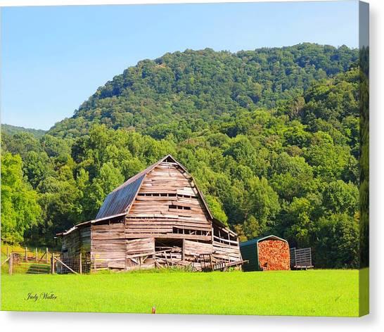 Barn Wood Canvas Print