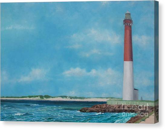 Barnegat Bay Lighthouse Canvas Print
