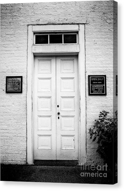 Barney's Doors Canvas Print