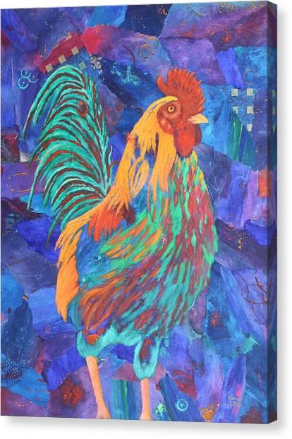 Barnyard Dude Canvas Print