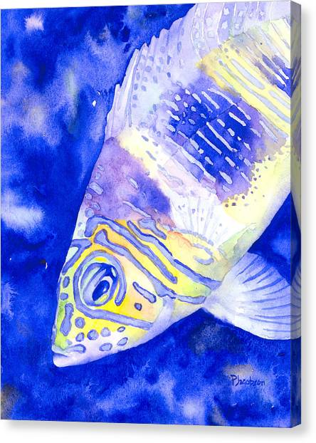 Barred Hamlet Portrait Canvas Print