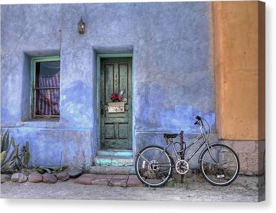 Barrio Bicycle Canvas Print