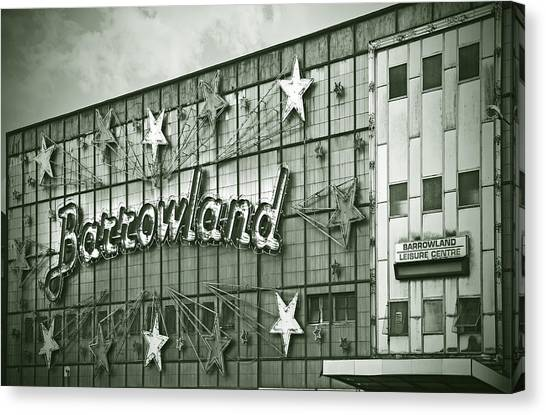 Barrowland Glasgow Canvas Print