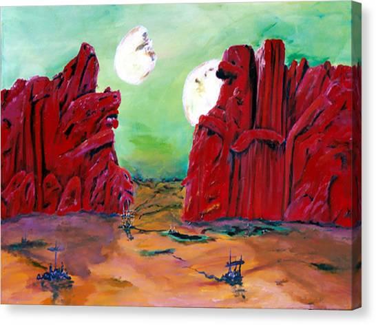 Barsoom Canvas Print