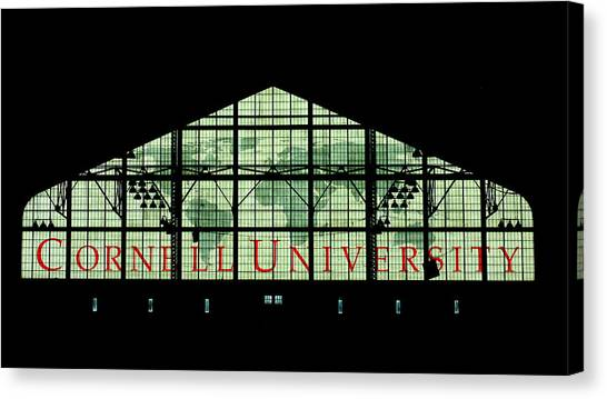 Cornell University Canvas Print - Barton Hall Cornell by Georgia Fowler