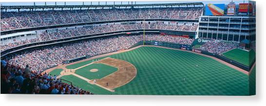 Pitching Canvas Print - Baseball Stadium, Texas Rangers V by Panoramic Images