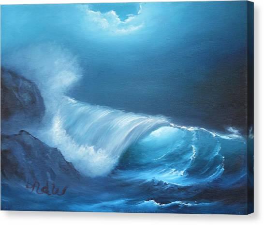 Basic Wave Canvas Print