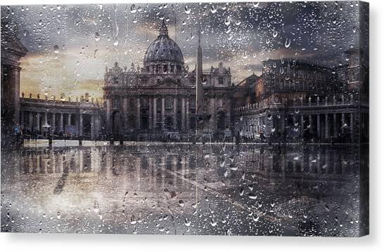 Basilica Di San Pietro Canvas Print by Nicodemo Quaglia