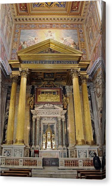 Basilica Of St John Lateran  Canvas Print