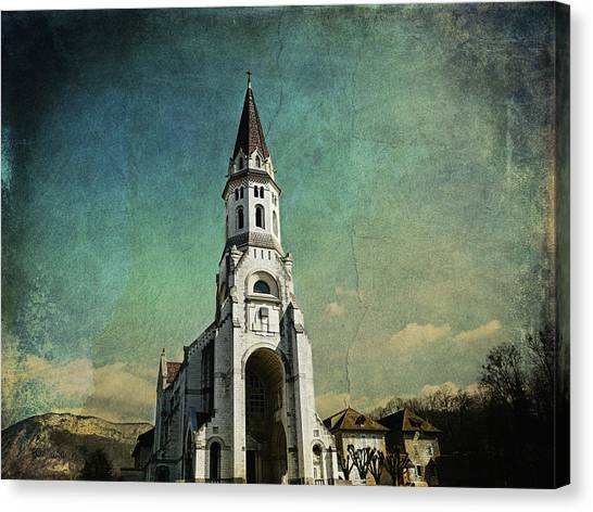 Basilica Of The Visitation Canvas Print
