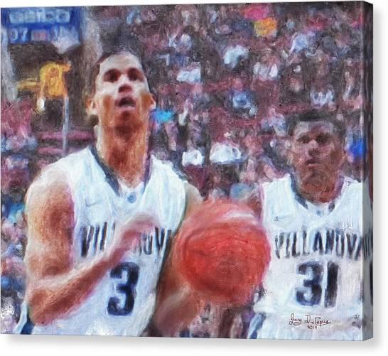 Basketball Game  Canvas Print